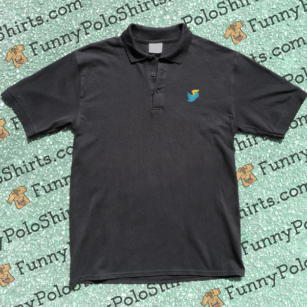 Tweety Trump - Twitter Parody Polo - Funny Polo Shirt - Product Preview