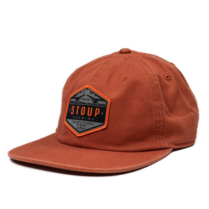 Orange Patch Hat