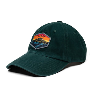 Green Patch Hat