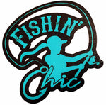 Fishin' Chic decals
