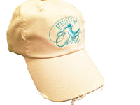 Fishin' Chic Distressed Ball Cap