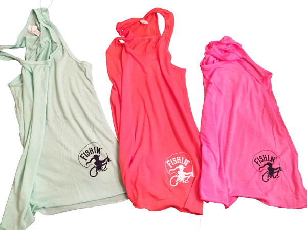 Fishin' Chic Adult Tanks