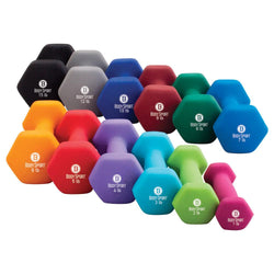 Body Sport Neoprene Dumbbells