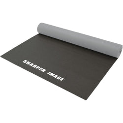 Sharper Image 5mm 2-tone Reversible Yoga Mat (black)