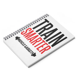 Train Smarter Spiral Notebook - Ruled Line