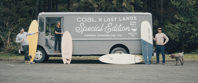 Coastal Collaboration: Field Testing the Coal x Lost Lands Collection