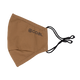 The Ergo Face Mask with Filter Pocket - Light Brown