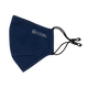 The Ergo Face Mask with Filter Pocket - Navy