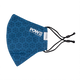 The Ergo Face Mask with Filter Pocket - POW Pack, Blue Snowflake