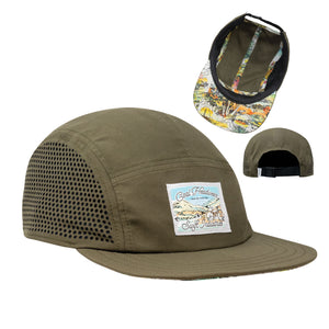 Coal x Swift Industries Headlands Olive Cycling Cap