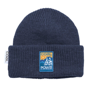 Coal X Pow Beanie Heather Navy