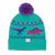 The Dina Dinosaur Graphic Pom Beanie