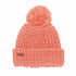 The Kate Waffle Knit Pom Womens Beanie