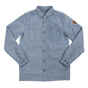 Lost Creek Men's Quilted Denim Shirt