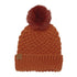 The Maizy Knit Faux Fur Pom Womens Beanie
