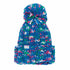 The Opal Space Dye Chunky Pom Womens Beanie
