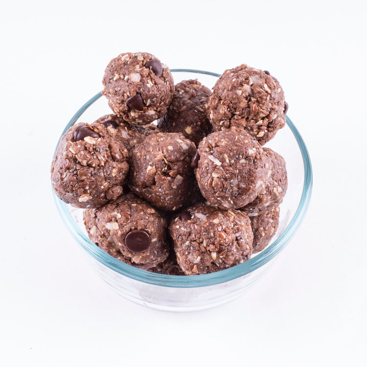 Peanut Butter & Chocolate Chip Protein Balls