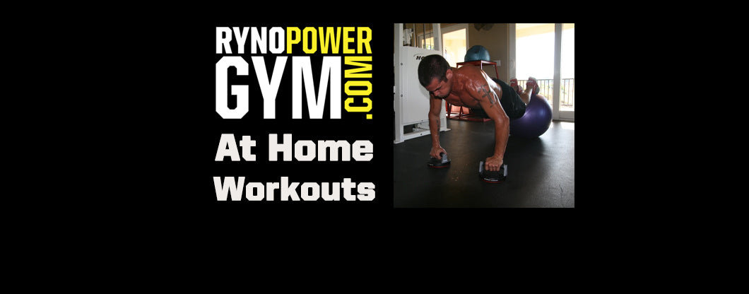 Ryno Power Gym At Home Workouts with Ryan Hughes! PUSH JACK