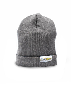Graphite Jersey Knit Stretch Beanie
