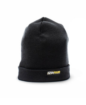 Onyx Jersey Knit Stretch Beanie