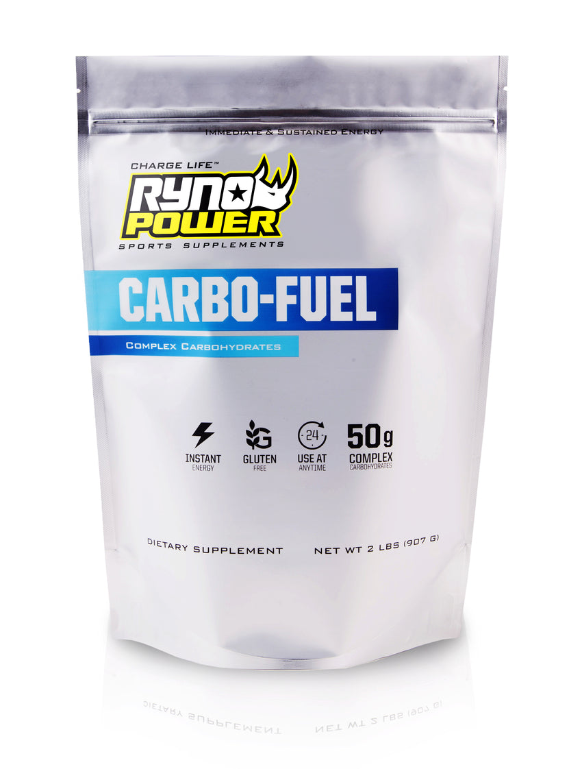 CARBO-FUEL Stimulant-Free Pre-Workout Drink Mix | 27 Servings (2 LBS)