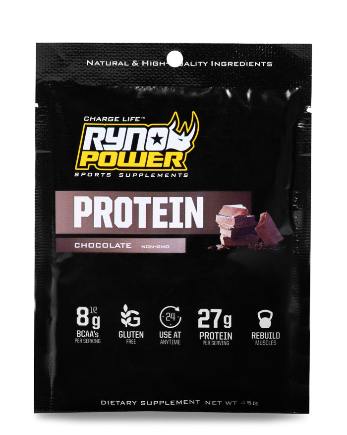 PROTEIN Premium Whey Chocolate Powder | Single Serving