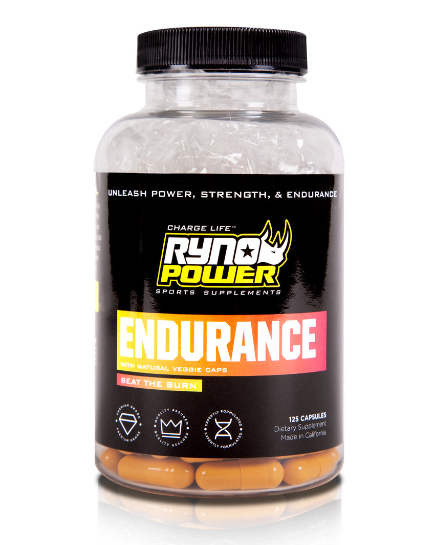 ENDURANCE Stimulant-Free Energy Supplement | 25 Servings (125 Capsules)