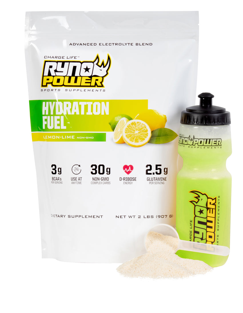 Hydration Fuel - Lemon Lime Supplement Facts
