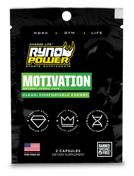 MOTIVATION Pre-Workout Focus Energy Supplement | Single Serving (2 Capsules)