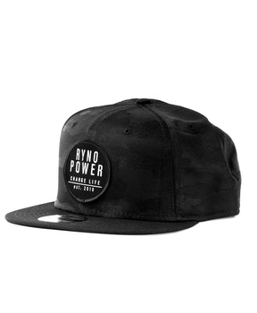 New Era 9-Fifty Patch Midnight Camo Snapback