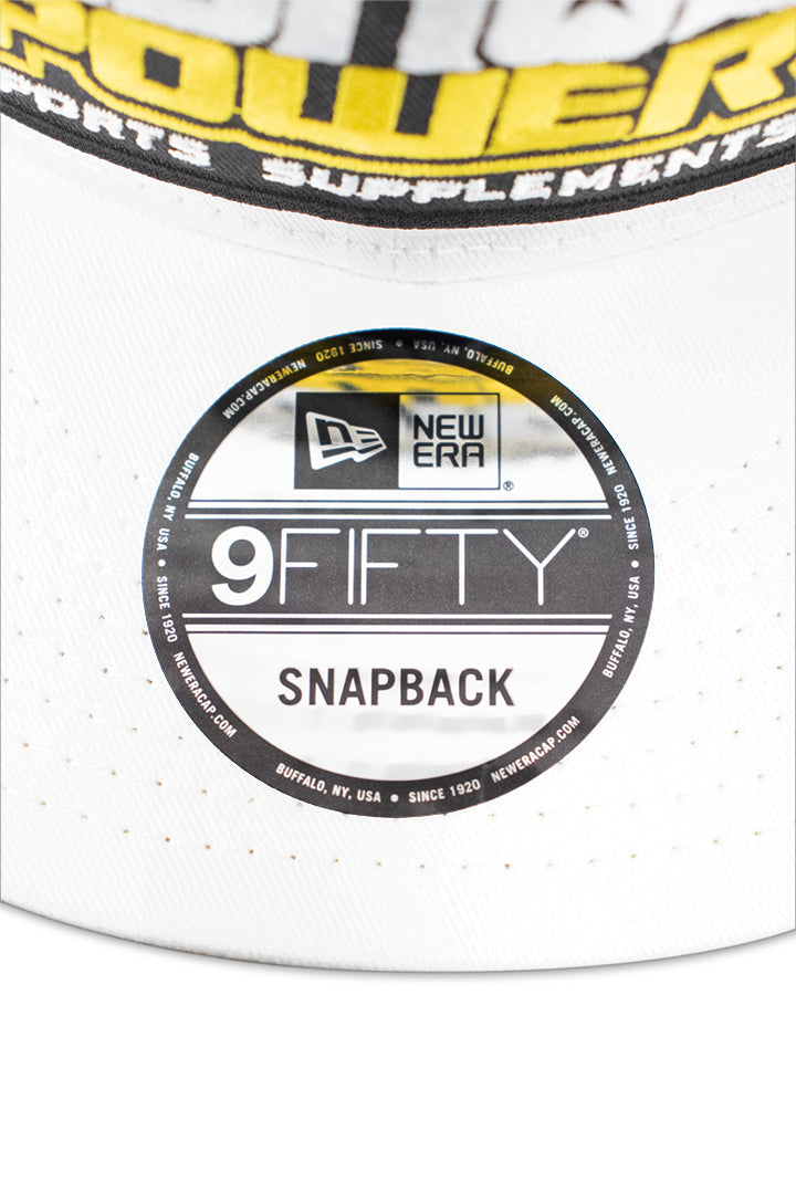 New Era 9-Fifty White Canvas Snapback