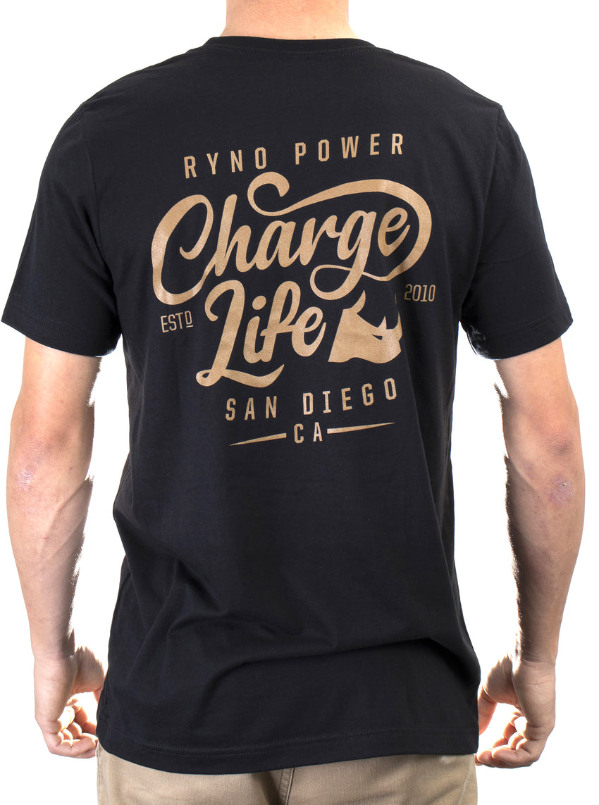"Men's ""Charge Life"" Tee"