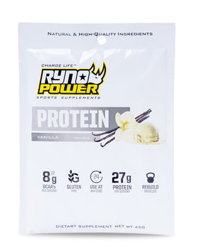 PROTEIN Premium Whey Vanilla Powder | Single Serving