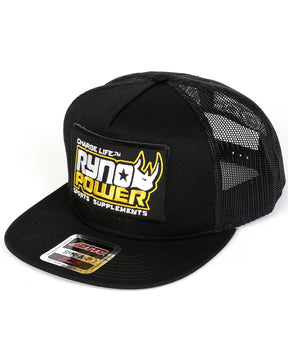 Black Charge Mesh Hat