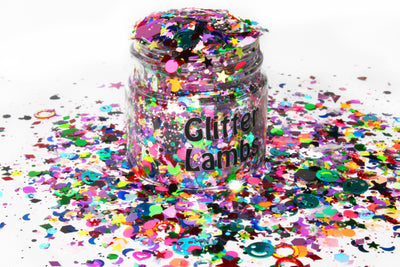 Because I'm Harley Freaking Quinn Glitter | For Crafts, Nails, Resin, Tumbler Cups, DIY Projects