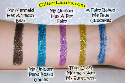 Holographic Body Glitter For Festivals, Raves and Parties