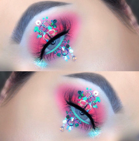Festival Glitter Makeup Looks For The Music Festival Lovers