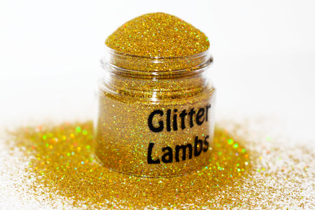 Goldilocks Holographic Glitter for nails, crafts, resin, etc by Glitter Lambs | GlitterLambs.com