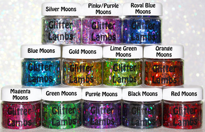 Holographic Moon Body Glitter by Glitter Lambs