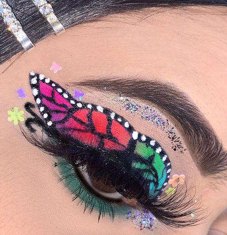 "Glitter Lambs ""King Kandy"" glitter from the Candy Land Glitter Collection worn by @beatbyfari 