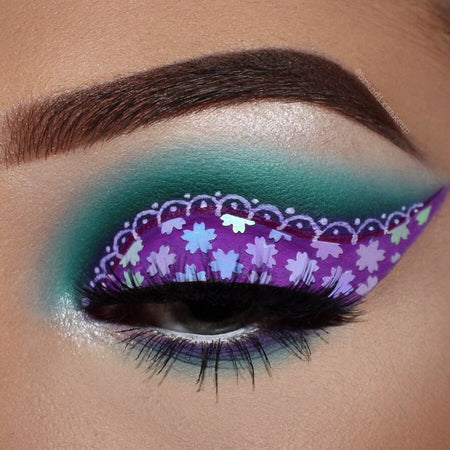 "Glitter Lambs ""Queen Frostine"" glitter from the Candy Land glitter collection by GlitterLambs.com Worn by @brandixmakeup"