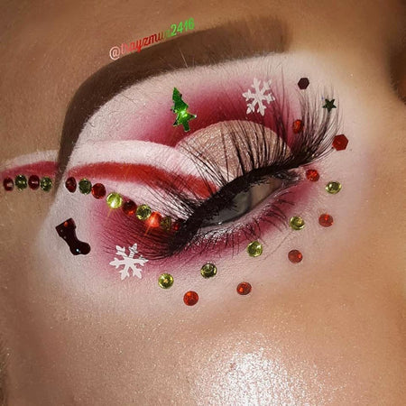 It's The Most Wonderful Time Of The Year Christmas Makeup Look