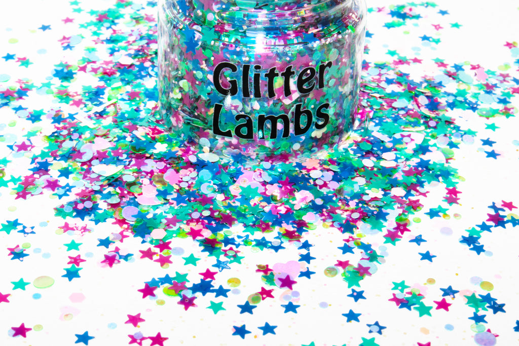 Aurora's Fairy Godmothers Glitter for crafts, nails, resin by Glitter Lambs | GlitterLambs.com