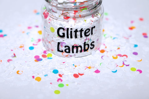 Birthday Cake Glitter by GlitterLambs.com
