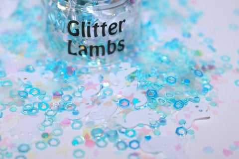 Boo Berry Glitter for crafts, nails, resin, etc by Glitter Lambs | GlitterLambs.com