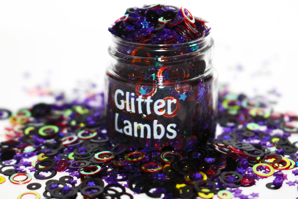 Casting Spells Glitter by Glitter Lambs for crafts, nails, resin, etc | GlitterLambs.com