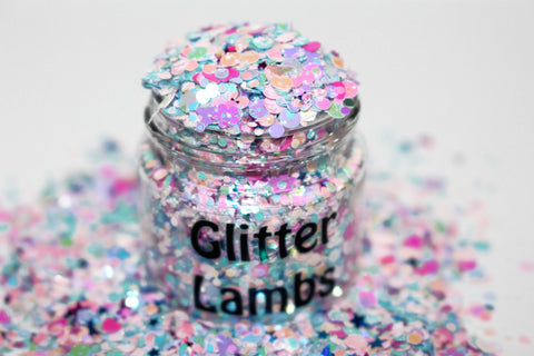 Cotton Candy Easter Peeps Glitter by GlitterLambs.com