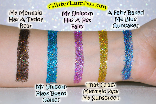 Holographic Body Glitter by Glitter Lambs