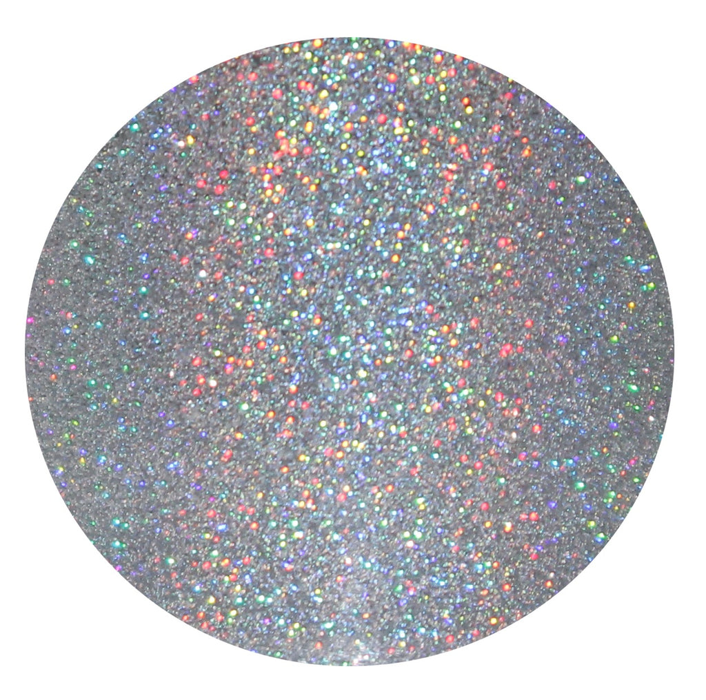 Silver Holographic Face, Hair & Body Glitter Pots GlitterLambs.com Illuminati .002