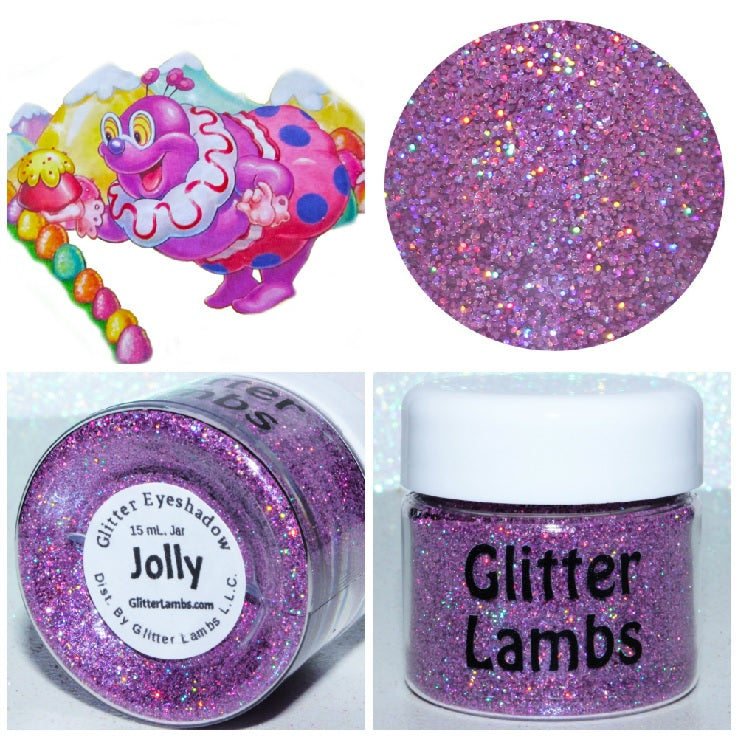 Jolly from the Candy Land Glitter Collection by Glitter Lambs - GlitterLambs.com